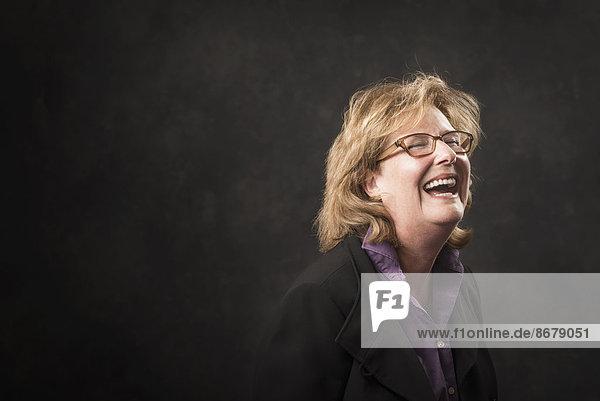 Europäer  Geschäftsfrau  lachen