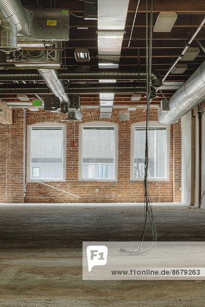 bauen unterhalb Büro