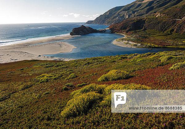 Küste in Kalifornien  USA