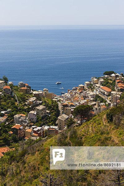 Italien,  Ligurien,  Cinque Terre,  Riomaggiore