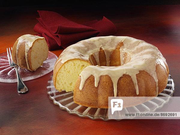 Kuchen Gugelhopf glasiert