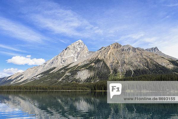 Kanada  Alberta  Jasper Nationalpark  Maligne Berg  Maligne See