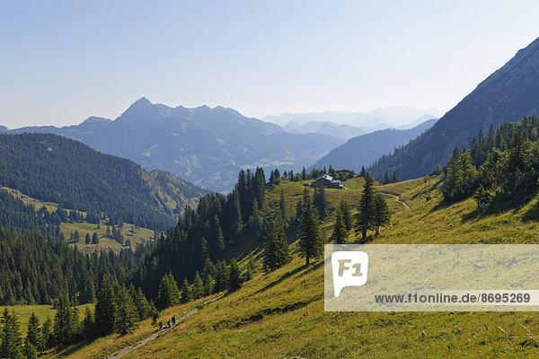 Bayern Deutschland links Oberbayern Mangfallgebirge