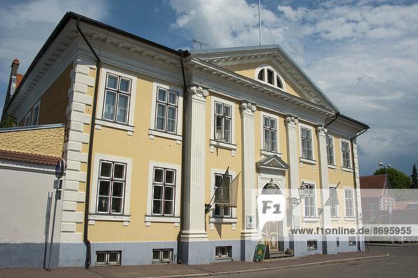 Rathaus  Pärnu  Estland  Baltikum