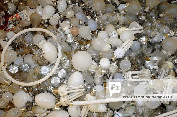 Glühbirnen-Recycling  Schweden