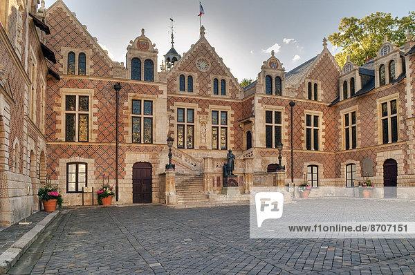 Hotel Groslot  ehemaliges Rathaus  Orléans  Département Loiret  Region Centre  Frankreich