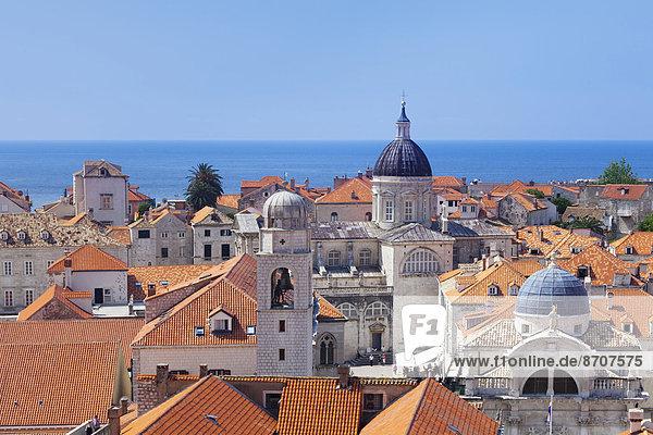Altstadt  Dubrovnik  Dalmatien  Kroatien