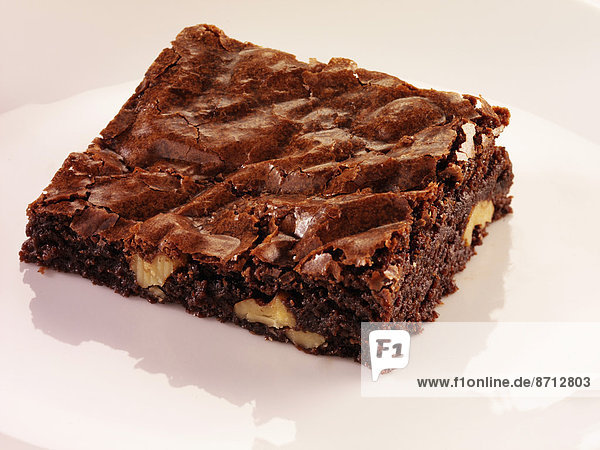 weiß  Schokolade  brownie  Pekannuss