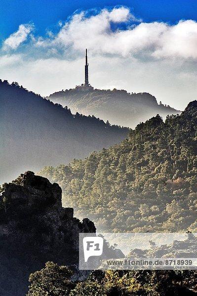 Frankreich  Europa  Berg  Hügel  Antenne  Telekommunikation  Var