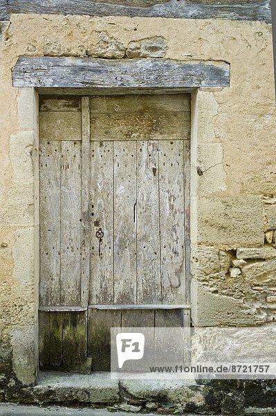 Frankreich Tradition Eingang Stadt Landschaftlich schön landschaftlich reizvoll Geographie Bordeaux Gironde alt
