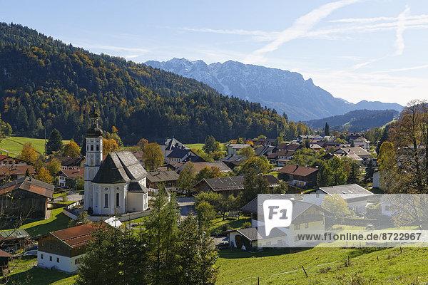 Bayern Deutschland Oberbayern Chiemgauer Alpen