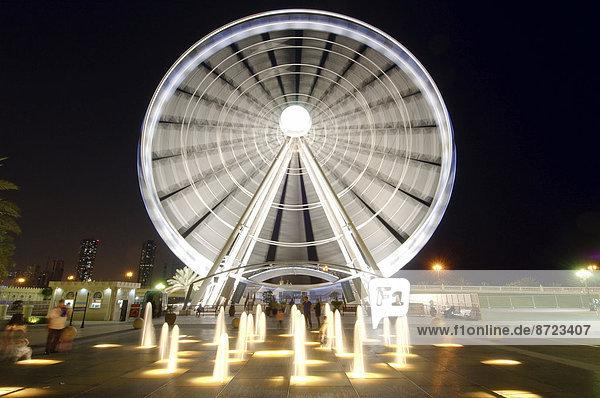 Riesenrad  Schardscha-Stadt  Emirat Schardscha  Vereinigte Arabische Emirate