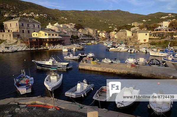 Hafen Frankreich Korsika Fischerdorf