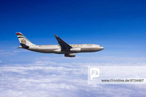 Etihad Airways  Airbus A330-243  in flight