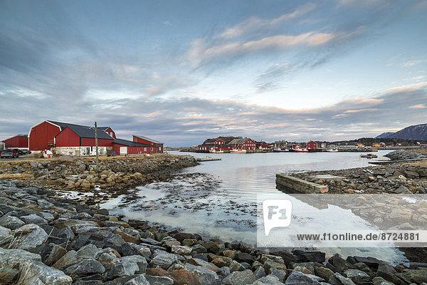 Küste Norwegen Lofoten