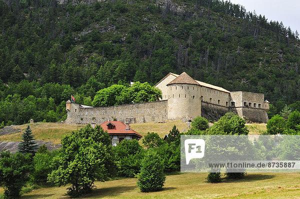 Das Fort de Savoie  von Vaban erbaut  Colmars  Alpes-de-Haute-Provence  Provence-Alpes-Côte d''Azur  Frankreich