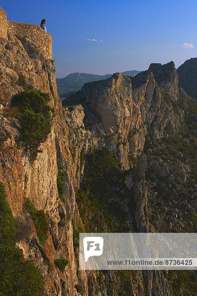 Aussichtspunkt,  Cap de Formentor,  Mallorca,  Balearen,  Spanien
