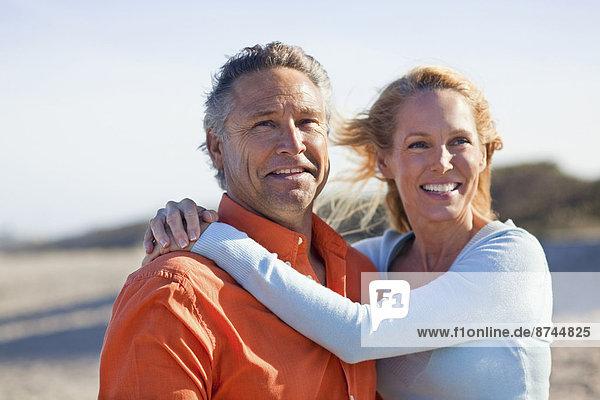 Vereinigte Staaten von Amerika  USA  Portrait  Strand  reifer Erwachsene  reife Erwachsene  Florida