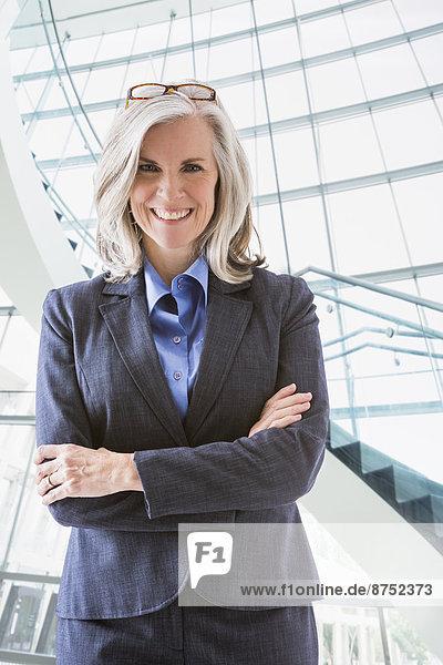 Portrait  Europäer  Geschäftsfrau  Hoffnung