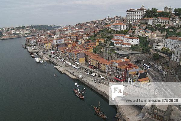 Stadt  Fluss  Douro  Porto  alt
