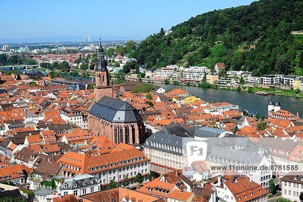 Europa  Fluss  Deutschland  Heidelberg