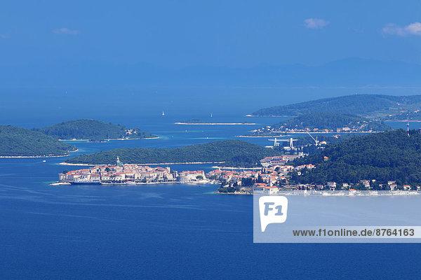 Stadt Insel Kroatien Dalmatien