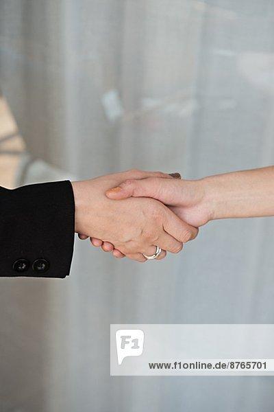 Handshake  close-up