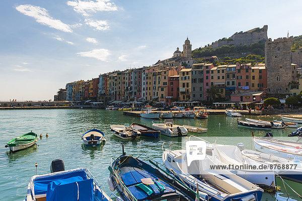 Italien  Ligurien  La Spezia  Portovenere  Hafen