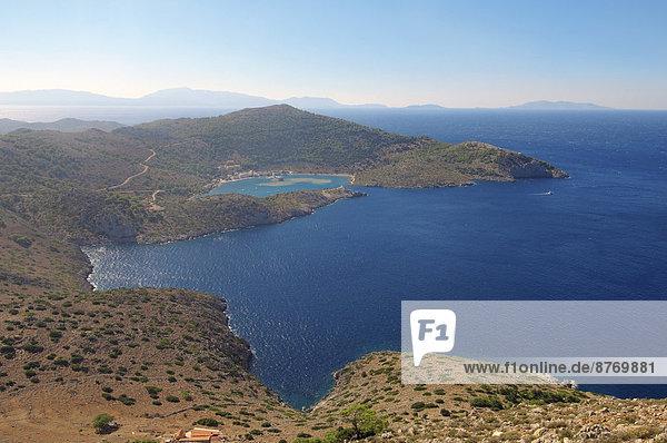 Küste Ägäisches Meer Ägäis Griechenland