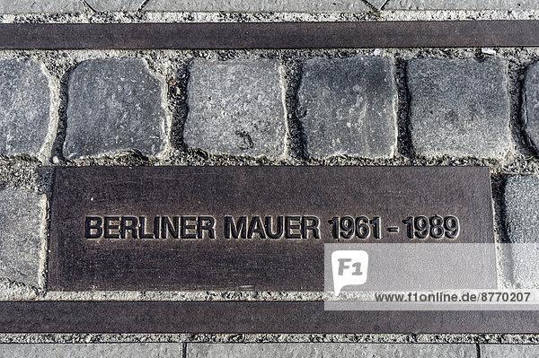 Gedenkstätte Berliner Mauer  Bernauer Straße  Berlin  Deutschland  Europa Gedenkstätte Berliner Mauer, Bernauer Straße, Berlin, Deutschland, Europa