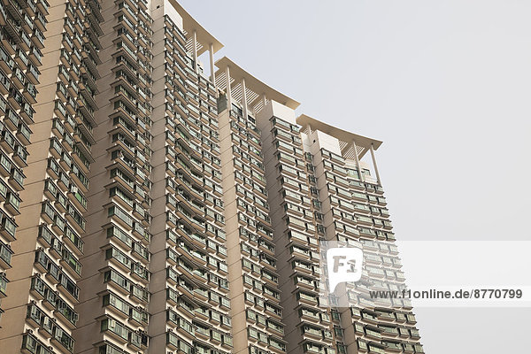 China  Hongkong  Lantau Island  Tung Chung  Wohnhochhäuser