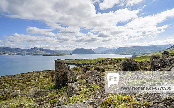 Iceland  Vestfiroir  Ocean bay