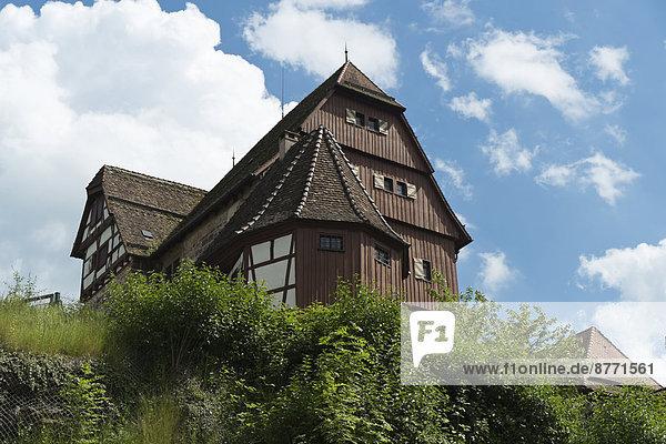 Deutschland  Baden-Württemberg  Altensteig  Schloss