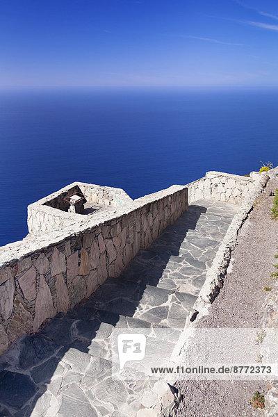 Mirador de Balcon viewpoint  west coast  Gran Canaria  Canary Islands  Spain