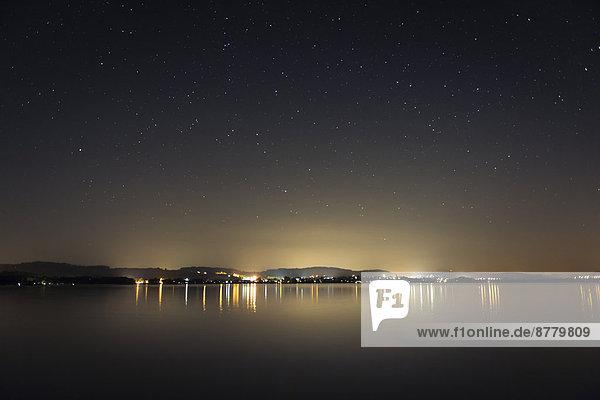 sternförmig  Europa  Himmel  Langzeitbelichtung  Beleuchtung  Licht  Schweiz