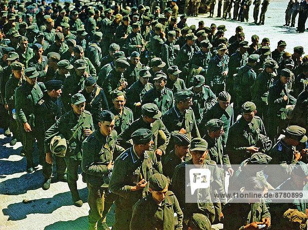Großbritannien  Geschichte  Soldat  Krieg  eindringen  Gefangenschaft  deutsch  Hampshire  Juni  Zweiter Weltkrieg  II.