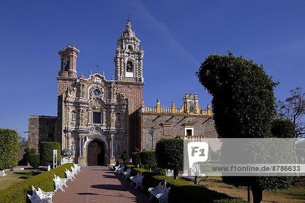 América  Mexico  Puebla state  Acatepec village  the San Francisco church