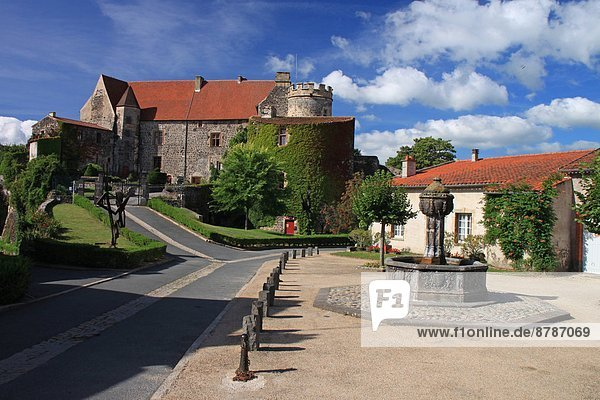 France  Auvergne  Saint Saturnin  Royal Castle Hotel