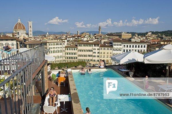 Italy  Tuscany  Florence  landscape