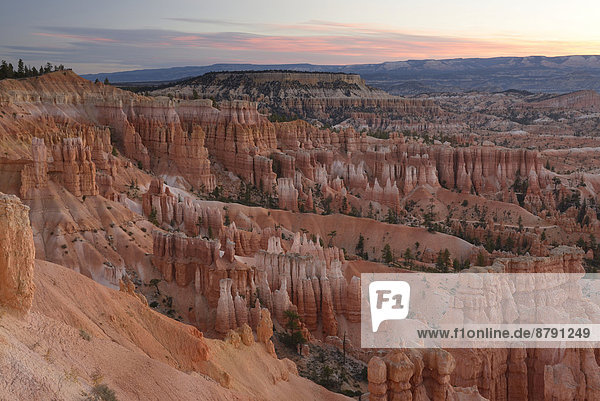 Vereinigte Staaten von Amerika  USA  Felsformation  Nationalpark  Felsbrocken  Amerika  Landschaft  niemand  Geologie  Natur  Süden  Bryce Canyon Nationalpark  Boulder  Colorado Plateau  Erosion  Utah