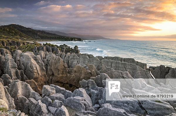 Pancake Rocks  Paparoa-Nationalpark  Punakaiki  Südinsel  Neuseeland