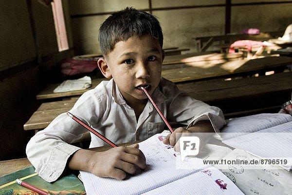 Myanmar  Amarapura  local school