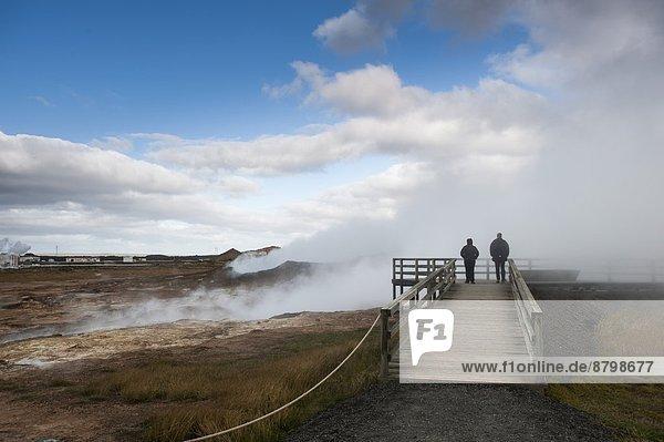 Island Halbinsel Reykjanes