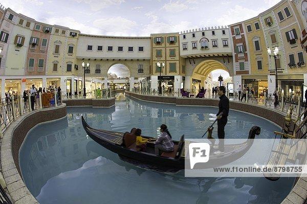 Interior  Villaggio Mall  Doha  Qatar  Middle East
