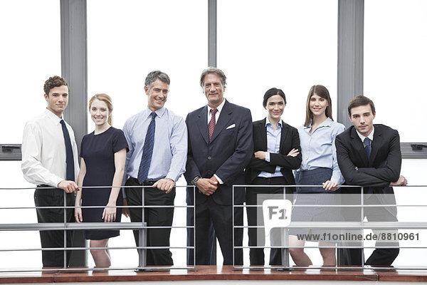 Team von Geschäftsleuten