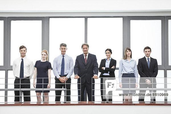 Team von Geschäftsleuten  Porträt