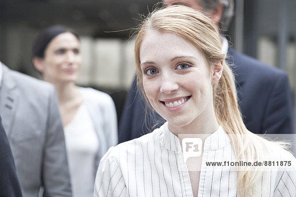 Geschäftsfrau  portrat