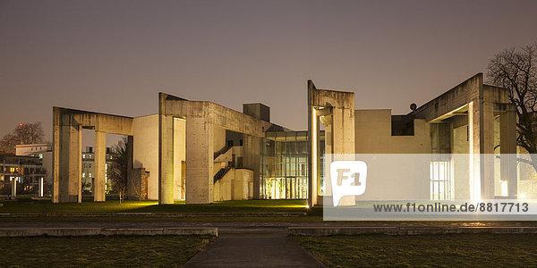 Synagoge  Innenhafen  Duisburg  Ruhrgebiet  Nordrhein-Westfalen  Deutschland Synagoge, Innenhafen, Duisburg, Ruhrgebiet, Nordrhein-Westfalen, Deutschland