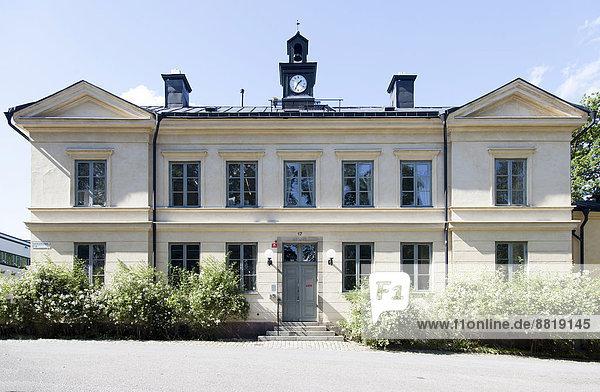 Stockholm Hauptstadt Studioaufnahme Skeppsholmen Schweden