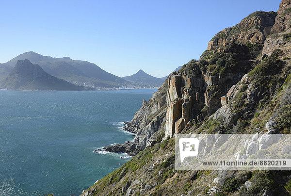 Küste  Hout Bay  Kaphalbinsel  Westkap  Südafrika